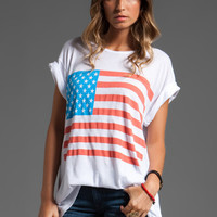 Wildfox Couture America Unisex Crew in Clean White from REVOLVEclothing.com