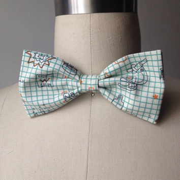 Mad Scientist Pre-tied Bow tie, gift for him