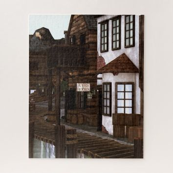 Pirate Village Jigsaw Puzzle