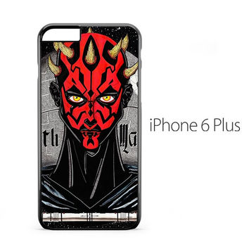 Darth Maul Star Wars iPhone 6 Plus Case