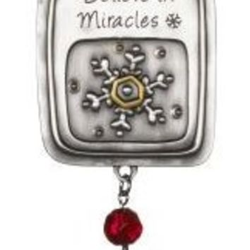 Believe in Miracles Car Charm