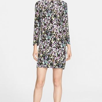 Women's Erdem Print Silk Sheath Dress,