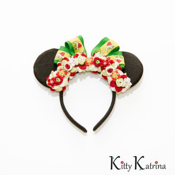Grinch Mouse Ears Headband, Disney Ears, Holiday Mouse Ears, Minnie Mouse Ears, Christmas Mouse Ears, How the Grinch Stole Christmas