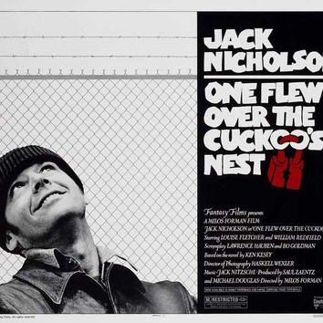 One Flew Over The Cuckoo's Nest (UK) 30x40 Movie Poster (1975)