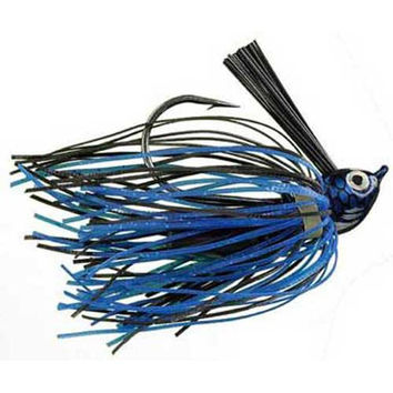 Strike King Premier Pro Jig 3-8oz Black-Blue Ac