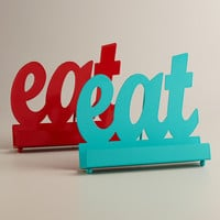 'Eat' Cookbook Holders, Set of 2 - World Market
