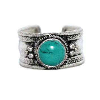 Turquoise Adjustable yoga ring