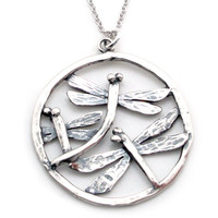 Dragonfly Necklace-PG95