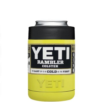 Custom YETI Colster Yellow Gloss Design Your Own Bottle & Can Cooler