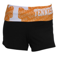 University of Tennessee Elastic Shorts