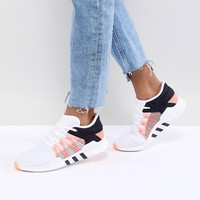adidas Originals EQT Racing Adv Sneakers In White at asos.com