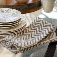 CHEVRON NAPKIN, SET OF 4