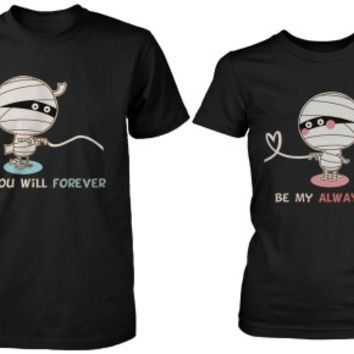 Romantic Mummy Couple Shirts - 365 Printing Inc