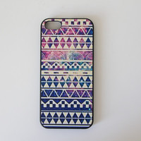 Purple Galaxy Tribal Case