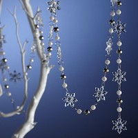 Crystal Snowflake Garland by Gorham from Lenox