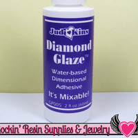 DIAMOND GLAZE 2 oz Water Based Dimensional Adhesive