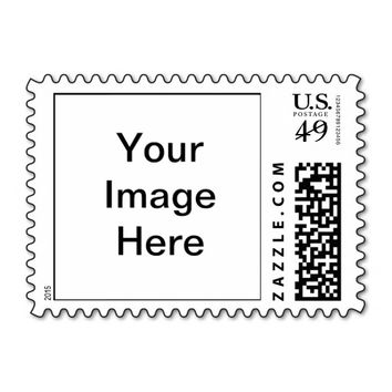 Upload Your Own Custom Photo Postage Stamp