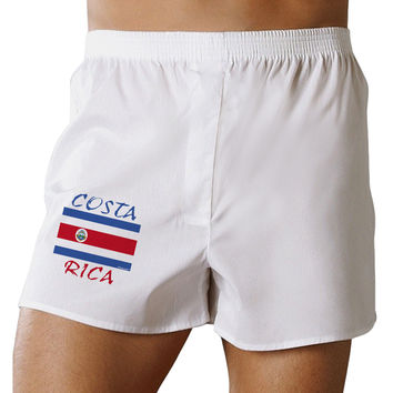 Costa Rica Flag Boxer Shorts