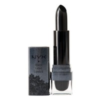 NYX Cosmetics Black Label Lipstick, Black Onyx, 0.15 Ounce