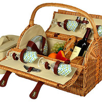One Kings Lane - Picnic at Ascot - Yorkshire Picnic Basket for 4