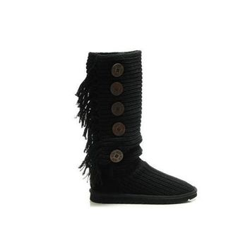 Ugg Boots Cyber Monday 2016 Bailey Button Triplet 1878 Black For Women 87 62