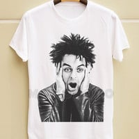 S M L XL -- Billie Joe Armstrong TShirts Green Day TShirts Punk Rock TShirts White TShirts Men Shirts Women Shirts Men TShirts Women TShirts