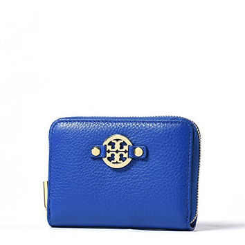 Tory Burch Amanda Leather Zippered Coin Case