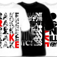 Drizzy Tees! Exclusive Drake T-Shirts