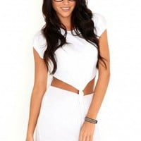 Missguided - Florence Knot Front Tunic