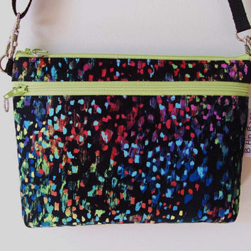 Fall Colors Bright Purse Wallet Organizer Small Zipper Cross body/Phone Holder/Shoulder Bag/Game Day Purse/Shopping/Gift Idea
