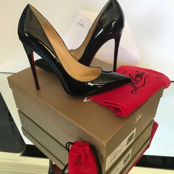 Christian Louboutin So Kate Black  Size 37.5