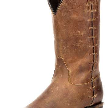 Men's Federal Boot - Pull Up Brown