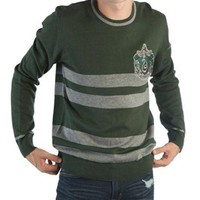 Harry Potter Slytherin House Adult Jacquard Sweater