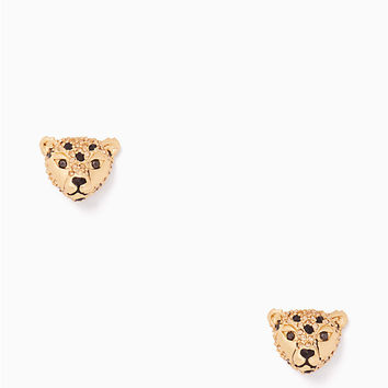 run wild cheetah studs | Kate Spade New York