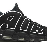 KUYOU Nike Air More Uptempo Black White