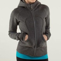 Lululemon Solid Color Casual Sports Running Cardigan Jacket Coat