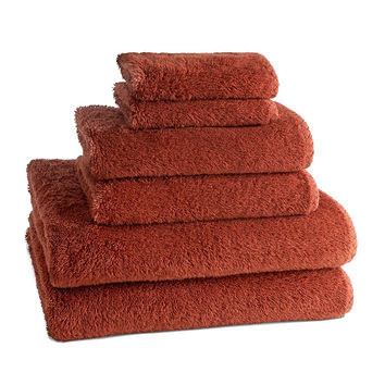 PALAIS LUXURY TOWELS | Set of 6 | Sienna