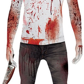 jeff the killer adult morphsuit costume l