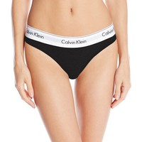 Women's Modern Cotton Thong Panty