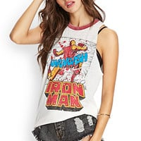 Distressed Iron Man Muscle Tee