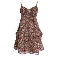 Floral Mini Slip Dress for Summer