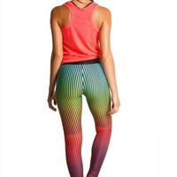 Agua Bendita Workout Leggings - Colorful