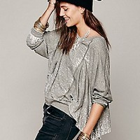 We The Free   Ruffle Pullover at Free People Clothing Boutique