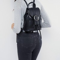 ASOS Buckle Backpack at asos.com