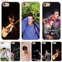 Lavaza Harry Styles Hard Phone Case for Apple iPhone X 10 8 7 6 6s Plus 5 5S SE 5C 4 4S Cover Coque Shell