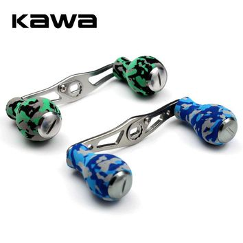 Kawa Fishing Handle of EVA Knob for Water Drop Wheel Fishing Reel, Hole Size 8*5mm, Suit  Abu and Daiwa Reel, High Quality