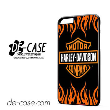 Harley Davidson Flame Logo DEAL-5044 Apple Phonecase Cover For Iphone 6/ 6S Plus