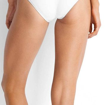 Seafolly Quilted White Hipster Bottom 40463-065-WHITE