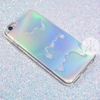 Holographic Drippy Phone Case 2-in-1 - iPhone 6 & 6s, 6 Plus & 6s Plus