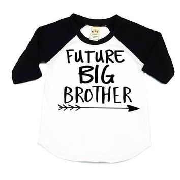 Future Big Brother Kids Raglan Shirt